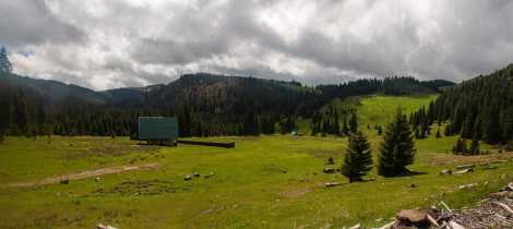 In the heart of the Apuseni mountains