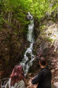 By the Jelovarnik waterfall