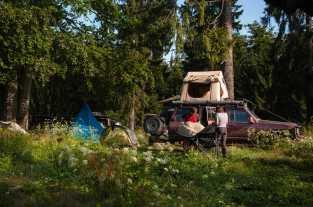 Taul Mare campsite