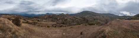 The landscape to Mariovo