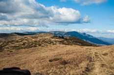 The border ridge between Serbia and Bulgaria