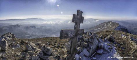 At the Rtanj peak