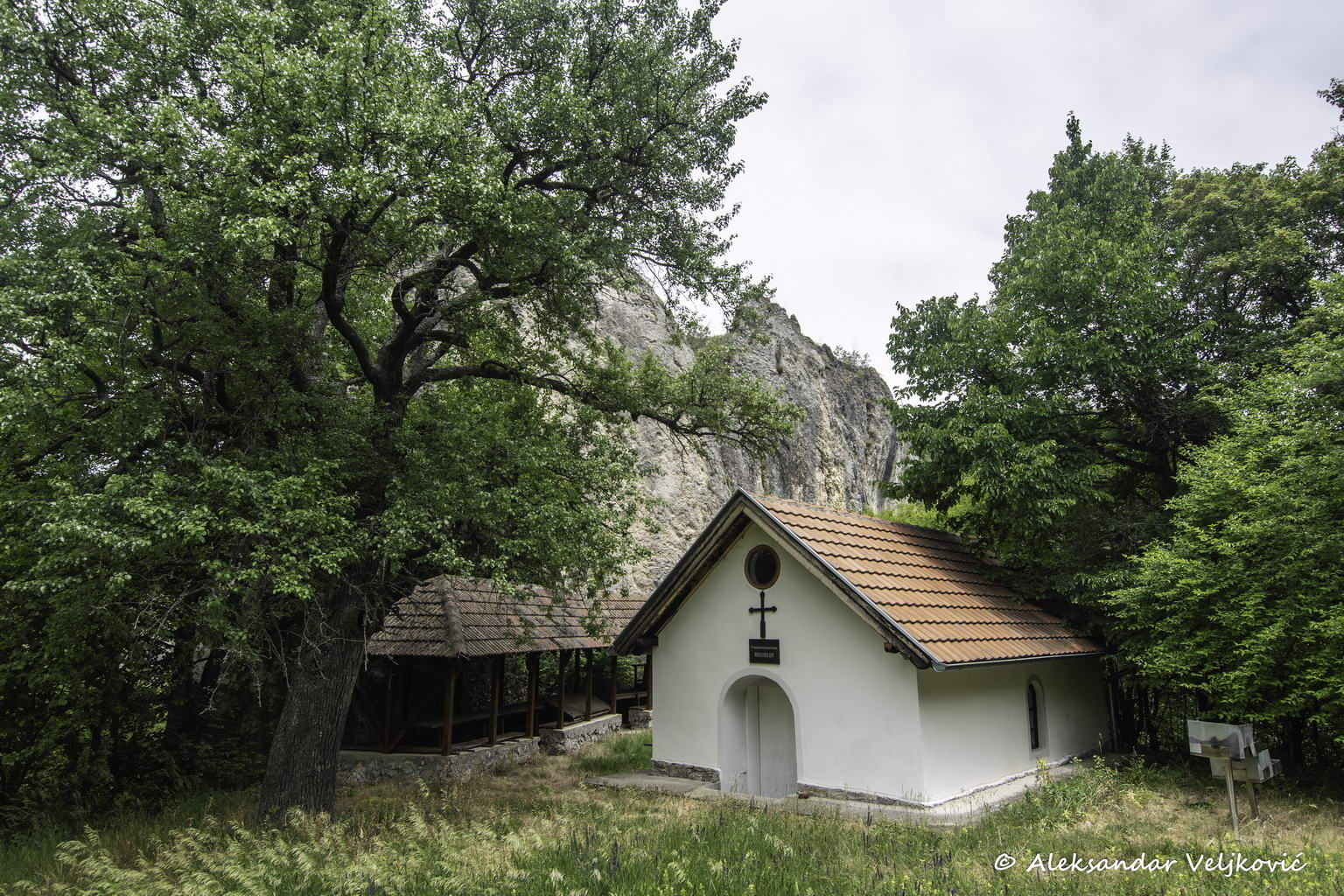 Church under the scenic point