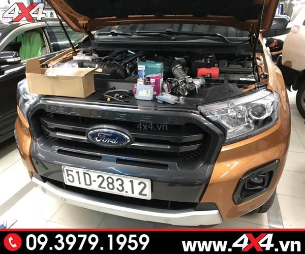 Độ đèn Ford Ranger: Gói độ đèn tăng sáng Philips tốt nhất dành cho xe bán tải