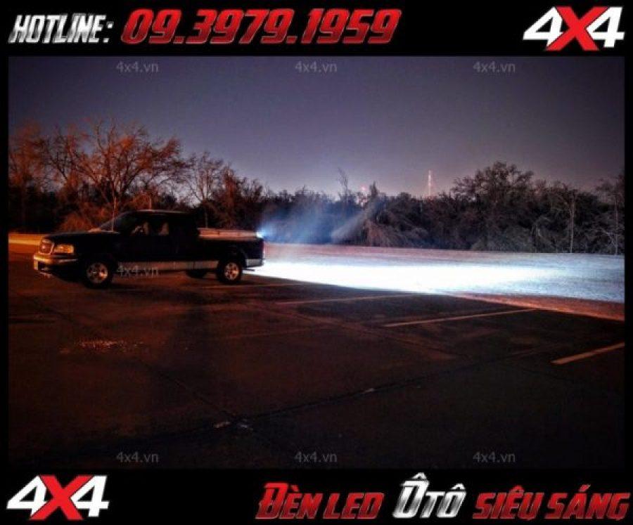 Picture Mẫu đèn led bar khá sáng được độ nhiều nhất cho ô tô, xe bán tải