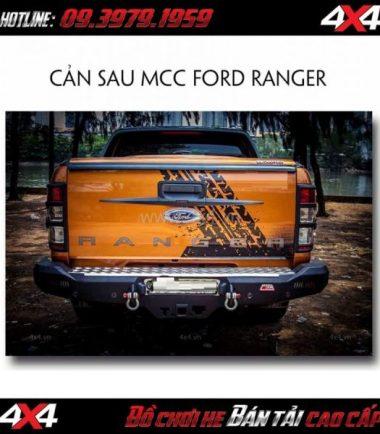 Cản sau MCC Rocker Bar cho xe bán tải Ford Ranger 2018 2019 ở HCM