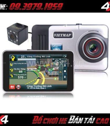 Chuyên bán thiết bị dẫn đường và ghi hình trước sau VIETMAP A45 cho xe ô tô, bán tải