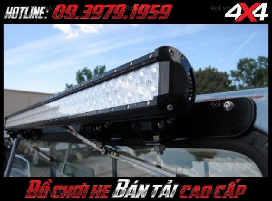 Đèn led bar ô tô xe bán tải độ đẹp và chất tại HCm