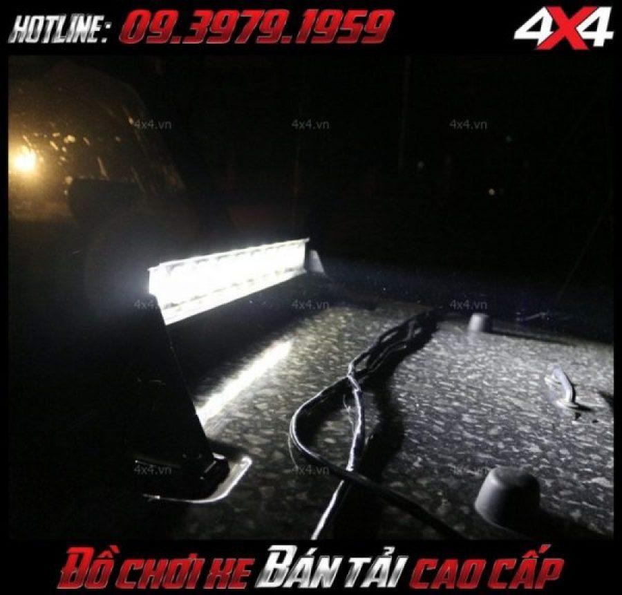 Đèn led bar 6D độ đẹp cho xe Ford Ranger, Chevrolet Colorado với giá rẻ tại HCM