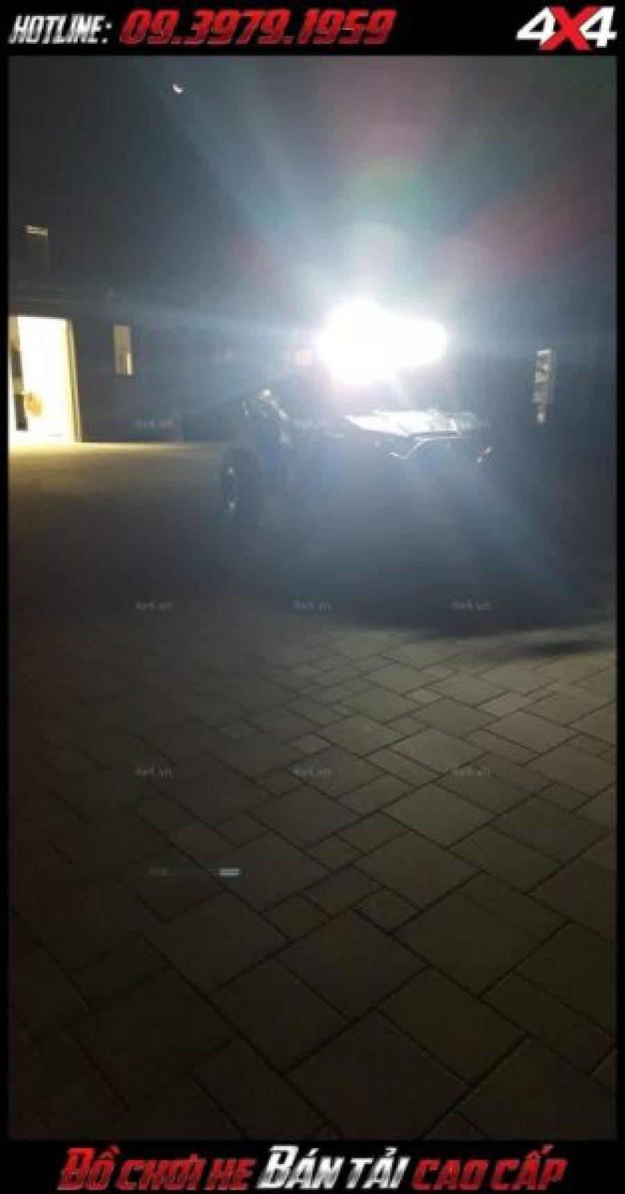 Đèn led bar 8D: Mẫu đèn nóc xe bán tải siêu sáng độ đẹp và chất