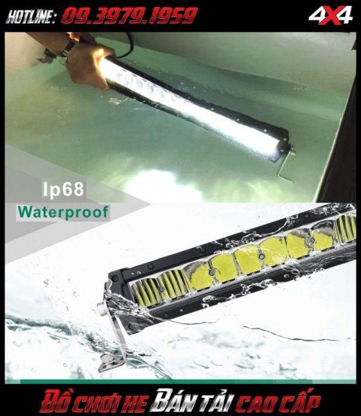Image <strong>đèn led nóc xe bán tải</strong>: mẫu đèn led bar này Không chỉ có tác dụng gắn đẹp mà còn cho ánh sáng khá tốt