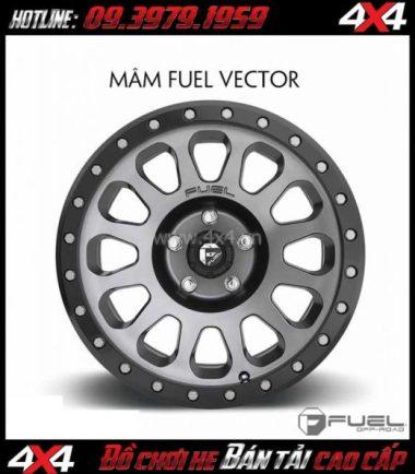 Tấm ảnh: Bán mâm 18 Inch: Mâm Fuel Vector D601 2018 cho xe hơi xe bán tải