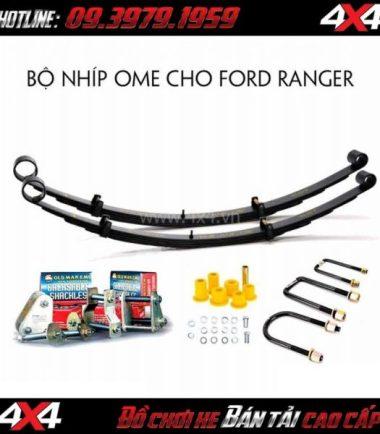 Photo Bộ nhíp Old Man Emu và các phụ kiện kèm theo dành cho xe Ford Ranger