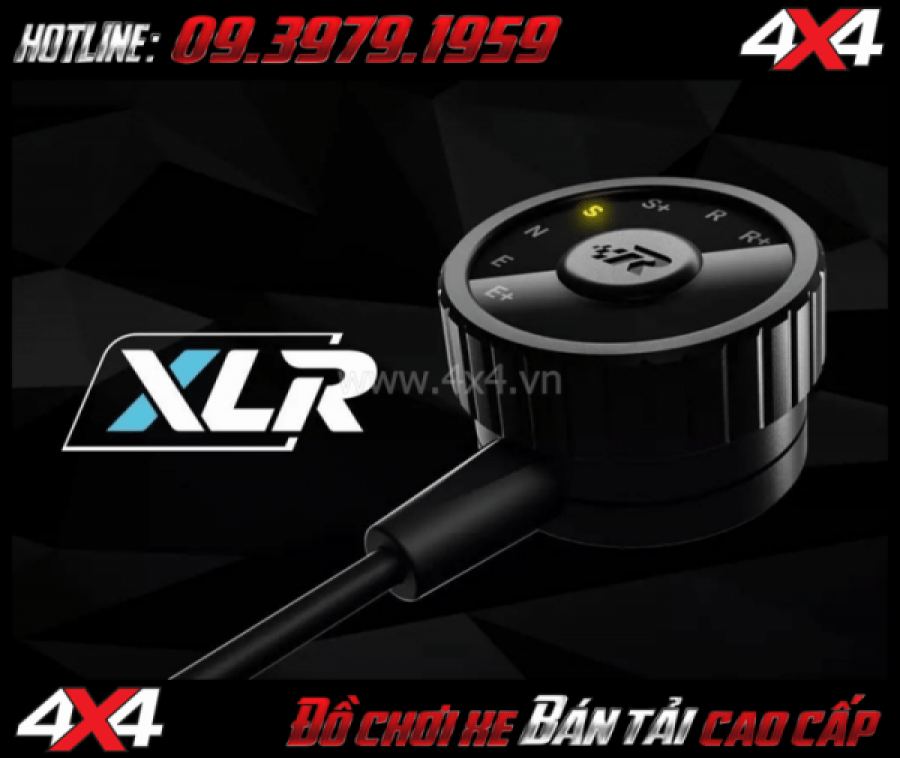 Bức ảnh: Cảm biến chân ga Racechip XLR giúp bạn dễ dàng điều chỉnh độ nhạy chân ga xe bốn bánh