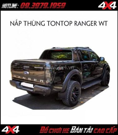 Chuyên bán nắp thùng Tontop cho xe bán tải Ford Ranger WildTrak ở HCM