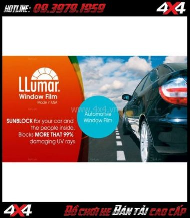 Image: Dán phim cách nhiệt LLumar cho xe 4 bánh 7 vị trí ở Tp.HCM