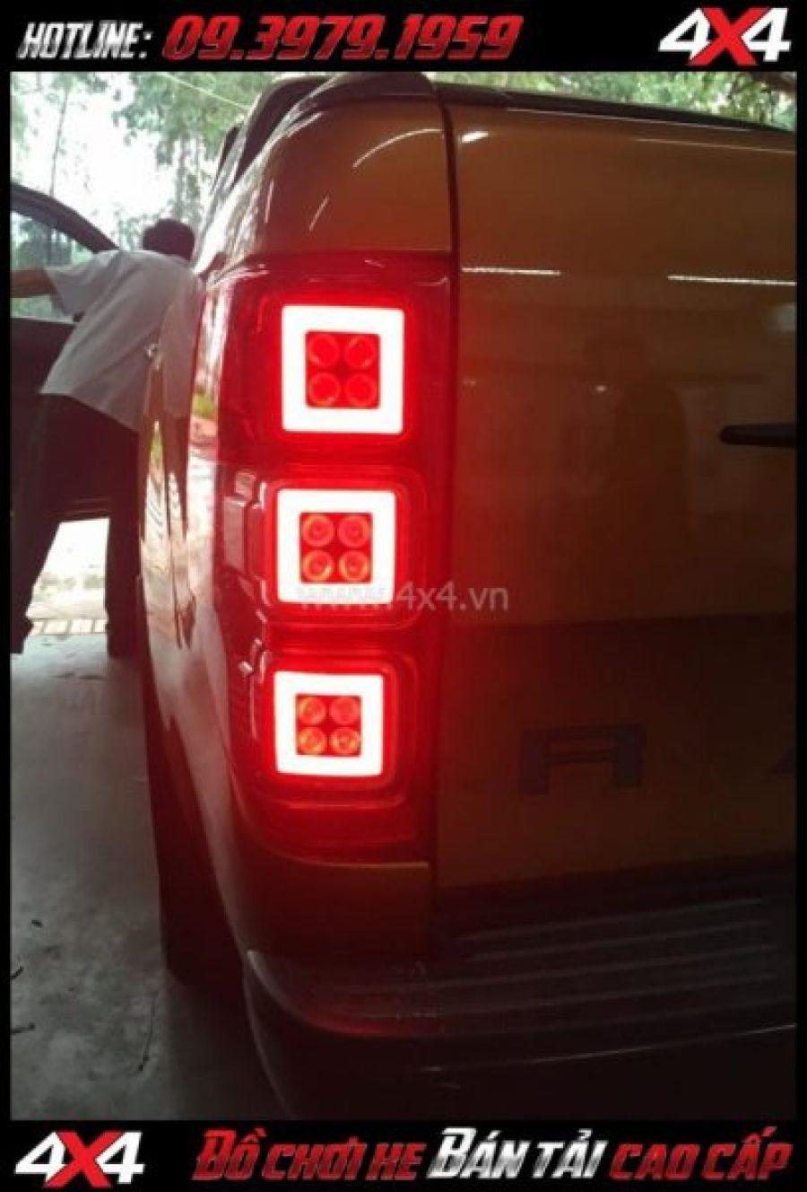 Tấm ảnh Đèn hậu Ford Ranger thay đẹp và nổi bật cho xe bán tải Ford Ranger 2019 ở Tp Hồ Chí Minh