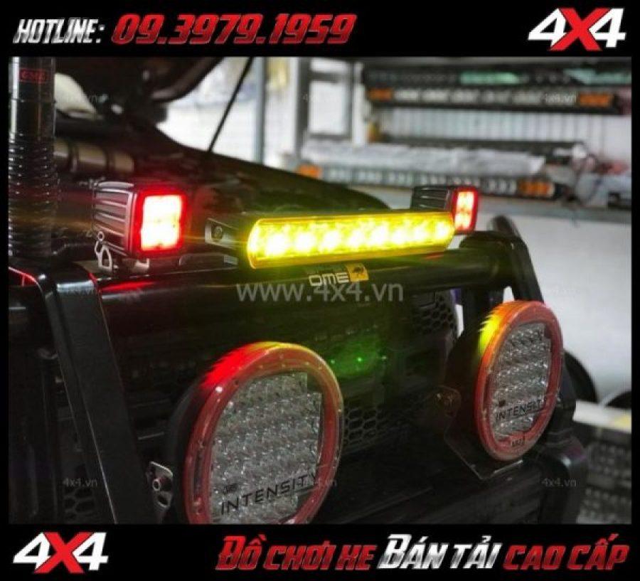 Đèn led phá sương mù Kenzo còn là loại đèn độ giúp trang trí cho xe thêm ngầu và đẳng cấp hơn