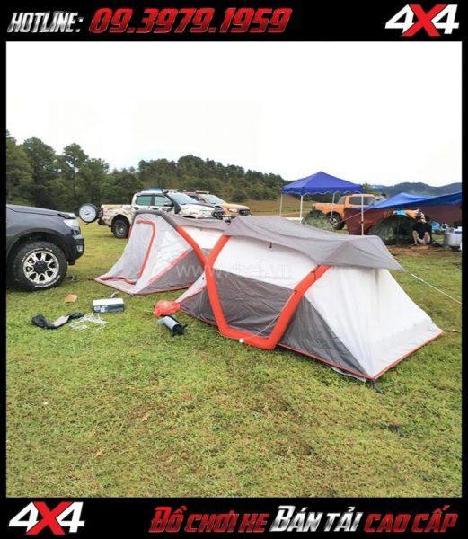 Hình ảnh: Lều hơi dã ngoại siêu thuận lợi dành cho các bạn khi đi du lịch