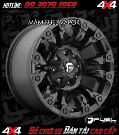Photo Mâm xe 4 bánh mạnh mẽ: Mâm Fuel One Piece Vapor D560 dành cho xe SUV và xe bán tải