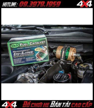 Tấm ảnh Xúc tác nhiên liệu Fitch Fuel Catalyst – F750 giúp tiết kiệm nhiên liệu cho xe bốn bánh, xe off-road