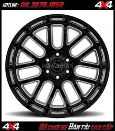 Image Mâm xe ô tô thể thao Black Rhino Pismo 18x9.5 ET-18 chất lượng giá gốc