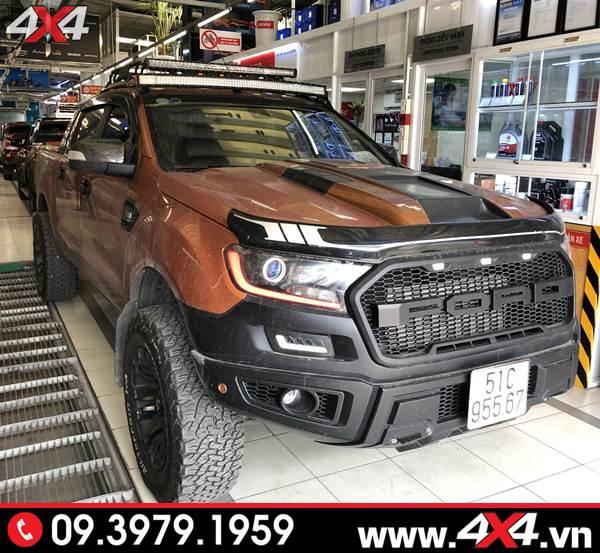 Body kit Raptor độ đẹp, hầm hố và ngầu cho xe bán tải Ford Ranger tại HCM