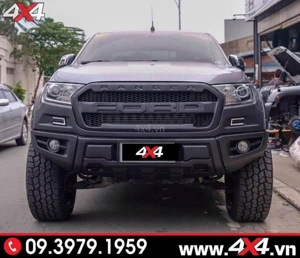 Đồ chơi xe Ford Ranger: Body kit Raptor độ đẹp và hầm hố cho bán tải Ford Ranger 2018 2019