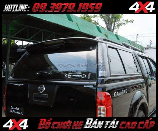 Hình ảnh Nắp thùng cao CarryBoy G3 (G3E) thể thao giá rẻ dành cho xe pick up ở Sài Gòn