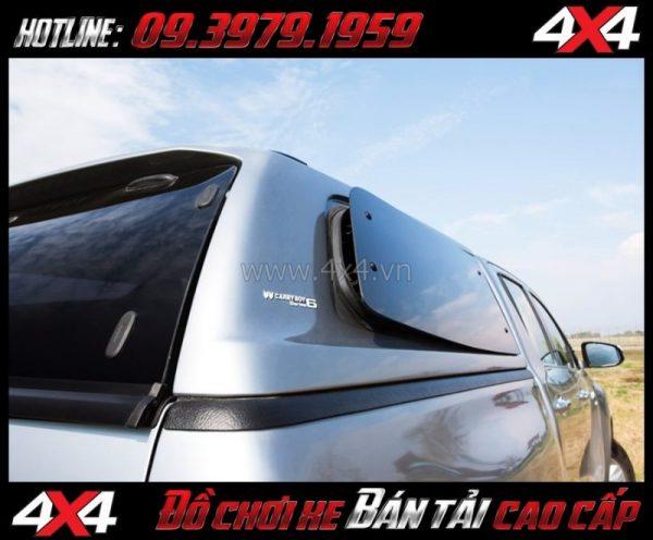 Bức ảnh Nắp thùng cao CarryBoy Series 6 (S6) độ đẹp giá rẻ dành cho xe bán tải tại TpHCM