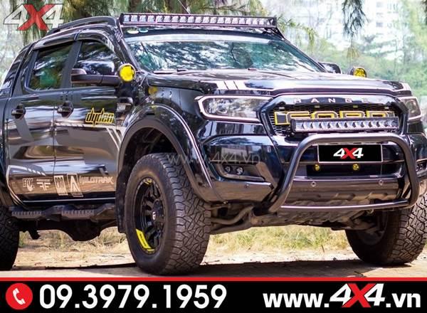 Đồ chơi xe Ford Ranger: Đèn led bar Stedi đẹp và đẳng cấp dành độ cho xe bán tải