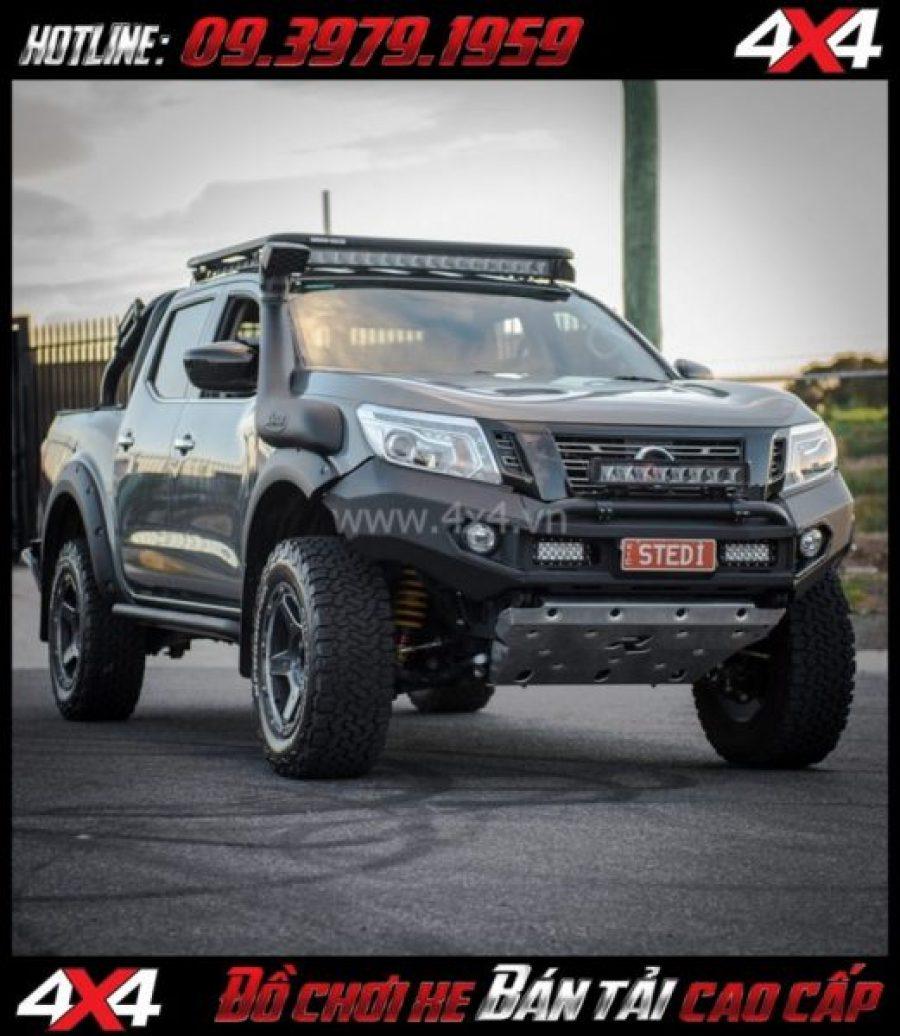 Tấm ảnh tăng sáng cho Ford Ranger 2018 Led bar Stedi độ đẹp và trợ sáng cực tốt cho xe off road Ford Ranger 2018