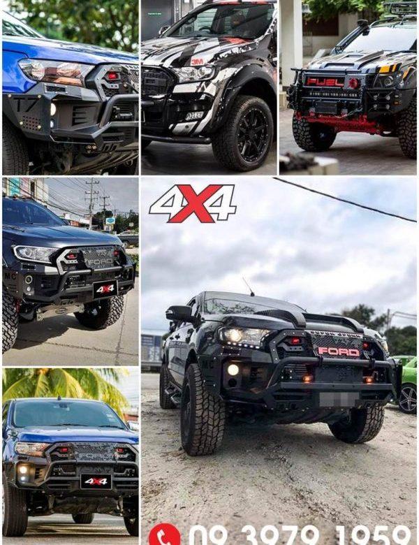 Sự khác biệt về đẳng cấp giữa chiếc xe Ford Ranger độ và không độ đồ chơi