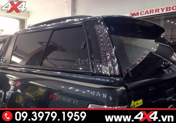 Nắp thùng cao G3e dành độ đẹp cho xe bán tải Ford Ranger