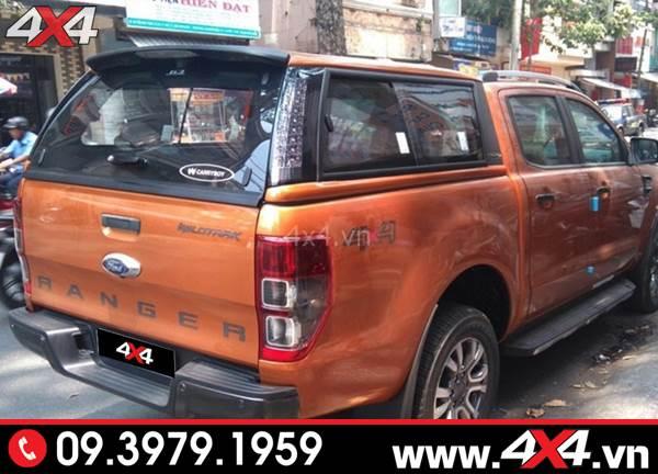 Đồ chơi xe Ford Ranger: Nắp thùng cao xe Ford Ranger CarryBoy G3E sang trọng và đẹp