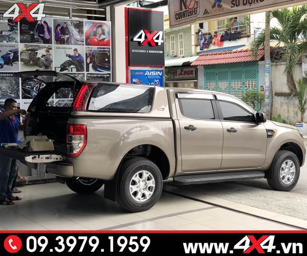 Đồ chơi xe Ford Ranger: Nắp thùng cao xe Ford Ranger CarryBoy Series 7 (S7)