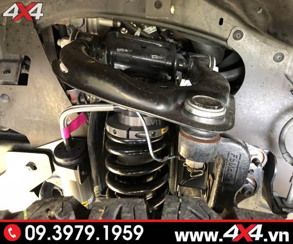 Đồ chơi xe Ford Ranger: Phuộc độ BP51 giúp giảm xóc tốt cho xe bán tải Ford Ranger