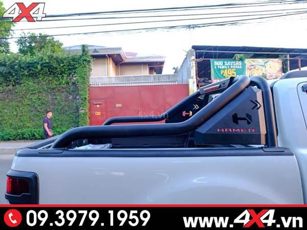 Đồ chơi xe Ford Ranger: Xe Ford Ranger XLT, XLS độ thanh thể thao Hamer đẹp và đẳng cấp