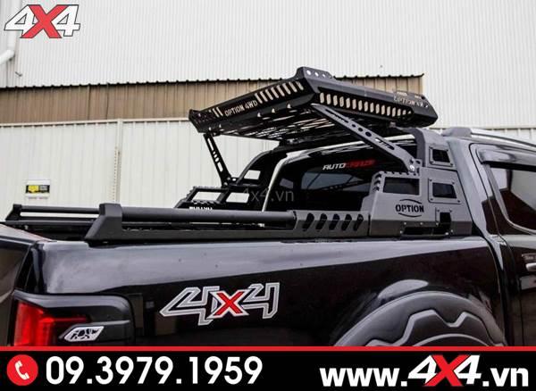 Đồ chơi xe Ford Range: Thanh thể thao Option 4wd độ đẹp và hầm hố cho xe bán tải Ford Ranger