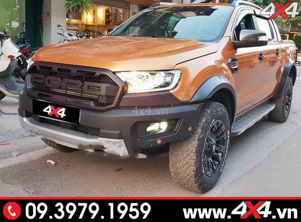 Ford Ranger độ phong cách Raptor Raptor lên đời cho xe XLT, XLS, Wildtrak đẹp và chất
