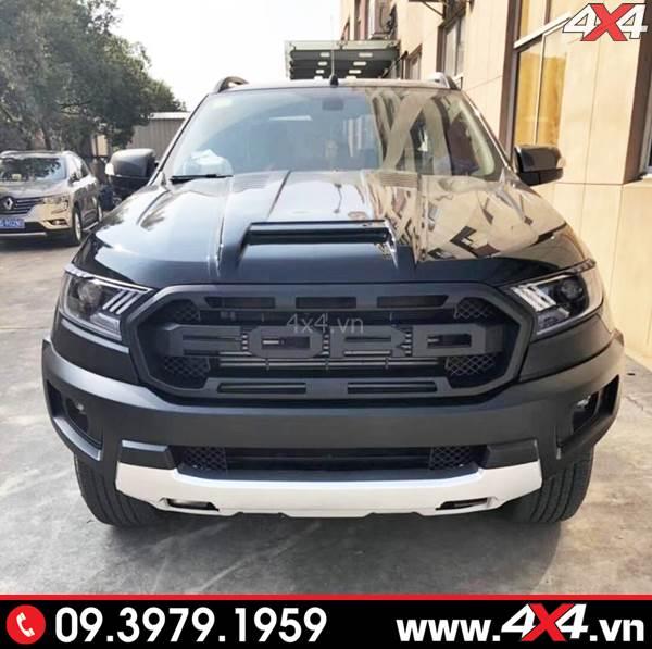 Body kit Ranger Raptor độ đẹp và ngầu cho Ford Ranger XLS, XLT, Wildtrak
