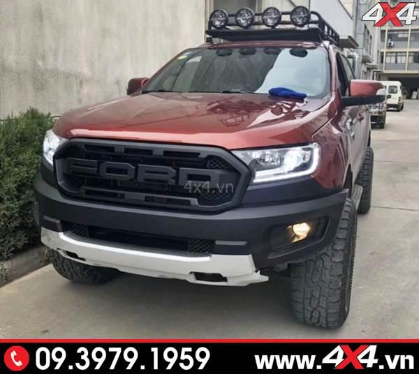 Bộ Ford Ranger độ phong cách Raptor lên đời thành Ranger Raptor dành cho xe bán tải