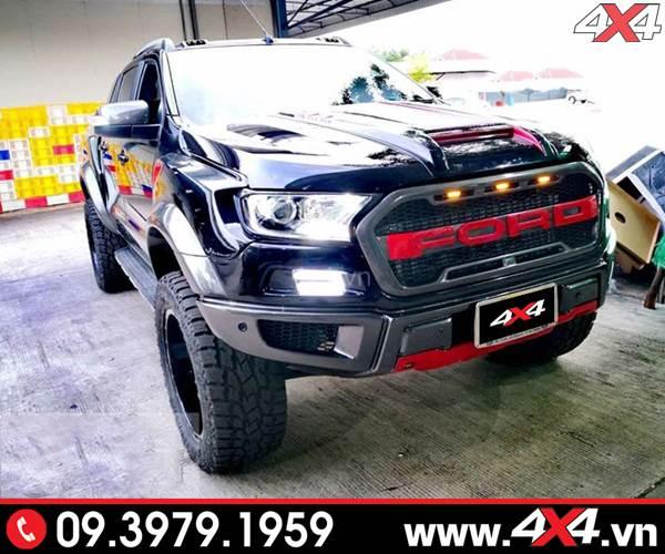 Body kit Ford Ranger Raptor Raptor full độ đẹp, đẳng cấp và hầm hố