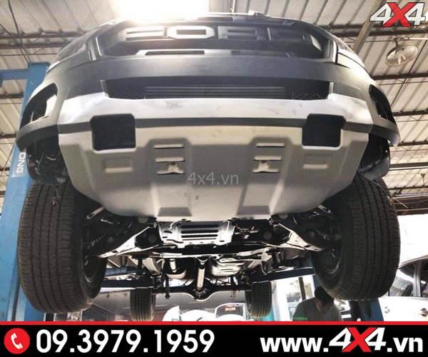 Body kit Ford Ranger Raptor Raptor độ cho XLT XLS, Wildtrak phần ốp gầm