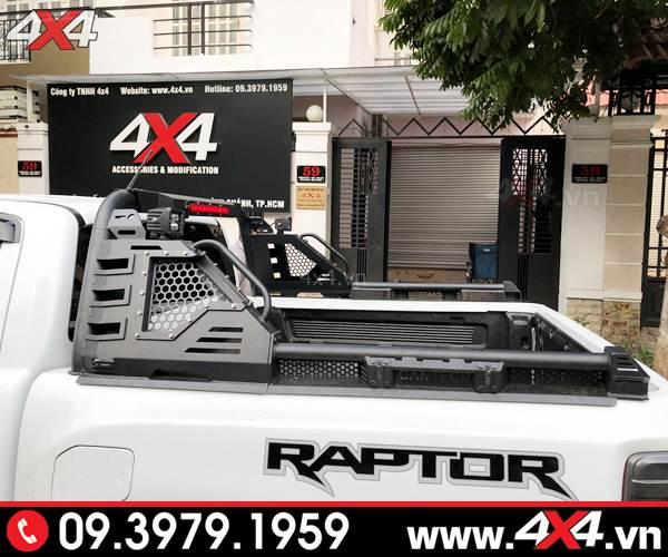 Thanh thể thao Cantech độ đẹp và ngầu cho xe bán tải Ford Ranger Raptor