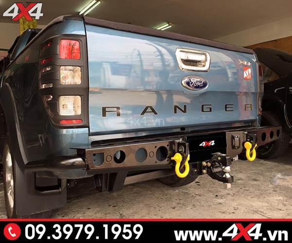 Cản sau độ Ford Ranger: Cản sau YAK độ cứng cáp và đẹp cho bán tải