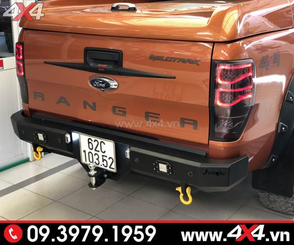 Đèn hậu Ford Ranger độ kiểu Merc đẹp và chất độ xe bán tải Ford Ranger