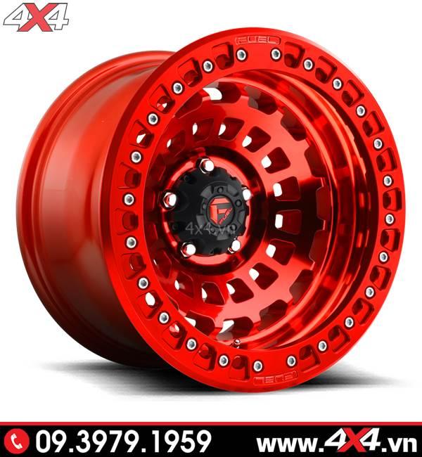 Mâm độ Ford Ranger: Mâm xe Ford Ranger độ đẹp và chất với màu đỏ nổi bật
