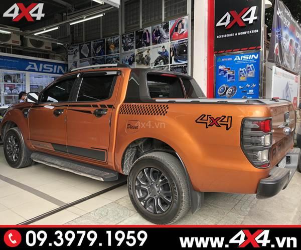Chiếc bán tải Ford Ranger độ đẹp và đẳng cấp với ốp viền sau carbon