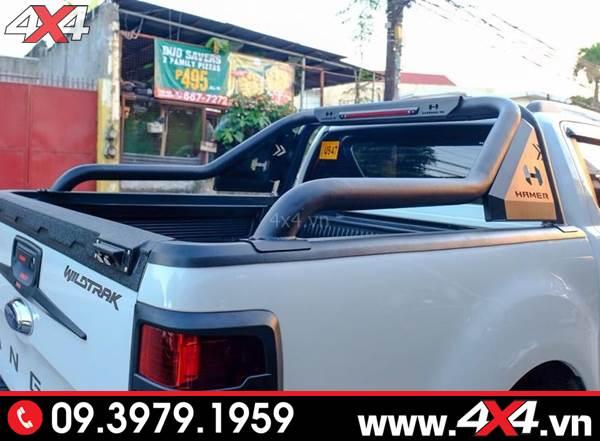 Chiếc bán tải độ ngầu và chất với Khung thể thao Ford Ranger Hamer